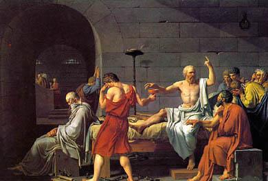 雅克路易达维德:《苏格拉底之死》